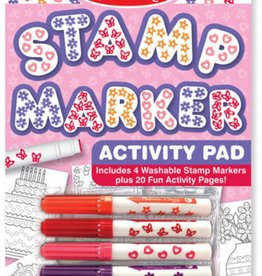 Melissa & Doug Stamp Marker Activity Pad-Pink
