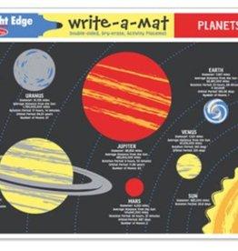 Melissa & Doug Write a Mat - Planets