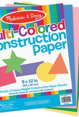 "Melissa & Doug Multi-colored Construction Paper (9""x12"")"