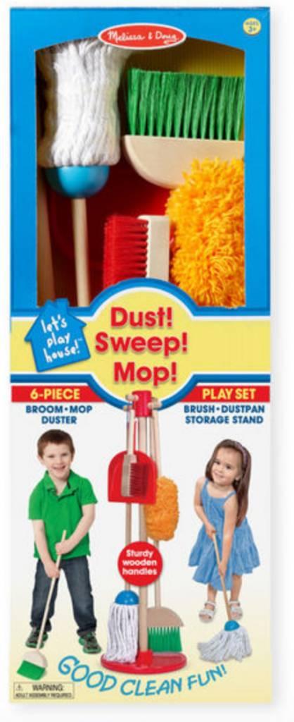 Melissa & Doug Let's Play House! Dust Sweep & Mop