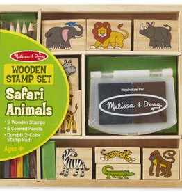 Melissa & Doug SAFARI ANIMALS STAMP SET