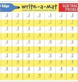Melissa & Doug Subtraction Problems Write a Mat