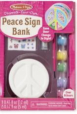 Melissa & Doug PEACE SIGN BANK