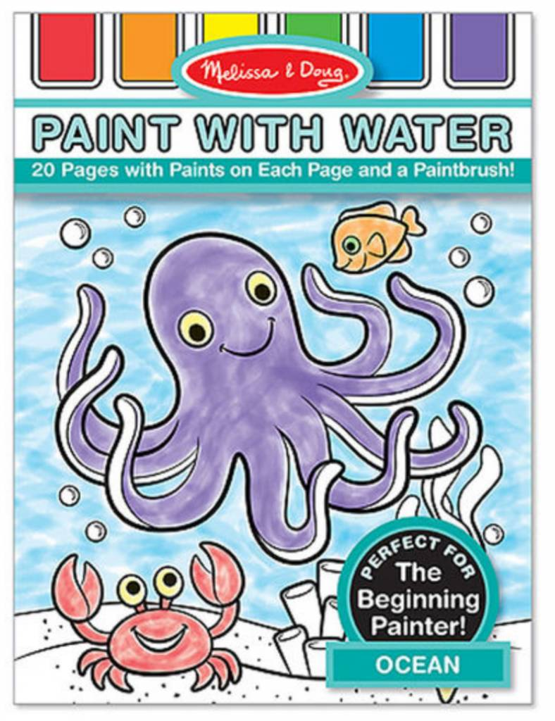Melissa & Doug Paint with Water-Ocean