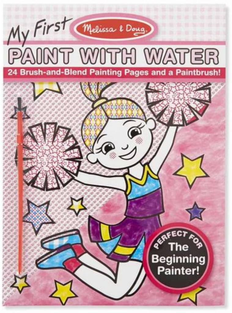 Melissa & Doug My First Paint With Water-Pink