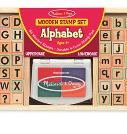 Melissa & Doug Stamp Set - Alphabet