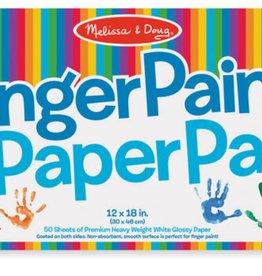 Melissa & Doug Finger Paint Paper Pad 12x 18