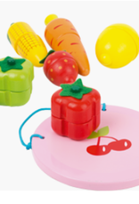 Legler USA SMALL FOOT MAGNETIC FRUIT AND VEGGIE PLAYSET