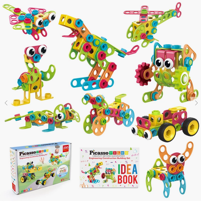 PICASSO TILES 250 pc ENGINEERING KIT