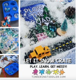 Tinkering Toddler Crates LET IT SNOW CRATE