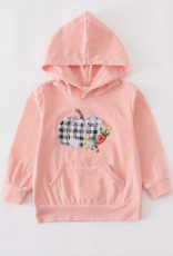 Honeydew kids clothing THANKSGIVING PUMPKIN PINK HOODIE