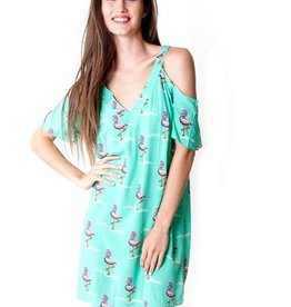 Flamingo Tango Tessa Cut Out Dress