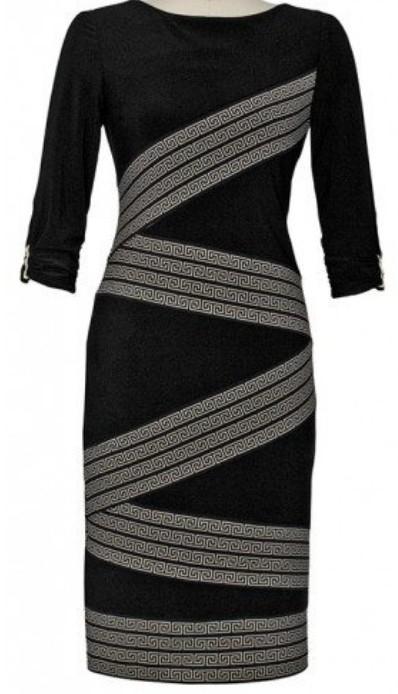 Joseph Ribkoff Black Dress 163749