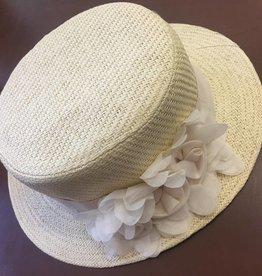 Magid Magid Natural Paper Straw Hat W/Flower