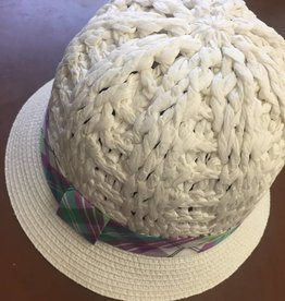 Magid Magid White Paper Straw Hat OS