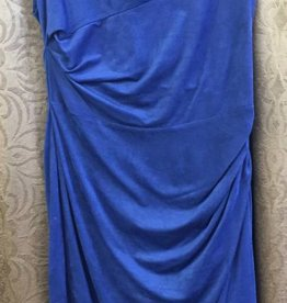 LINEA DOMANI Linea Domani Blue Knit Dress - Size 8