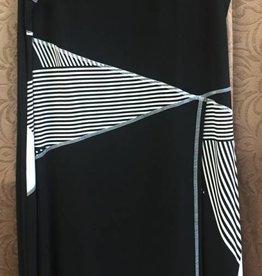 Artex Fashions Artex - 166256191 - Dress Blk w/ Wht Stripes - 2XL