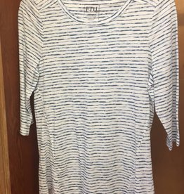 FRENCH DRESSING Baby Cloud Stripe Top
