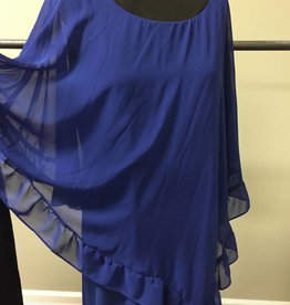 Last Tango Last Tango Chiffon Poncho Dress MS 1163