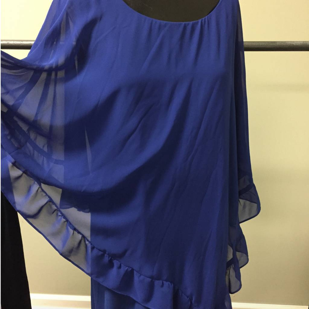 Last Tango Chiffon Poncho Dress MS 1163