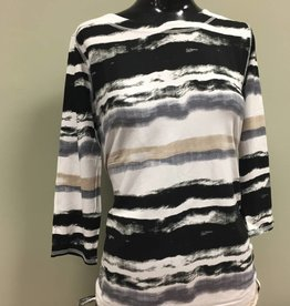 FRENCH DRESSING FDJ Watercolor Stripe Top 1037885
