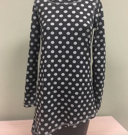 Pure Essence Pure Essence Reversible Angled Tunic, L/S 142-4447