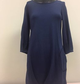 Pure Essence Pure Essence Tunic Dress, 3/4 Sleeve, Side Seam Pocket 112-4360
