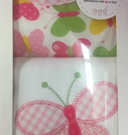 3 Marthas Bib & Burp Gift Set
