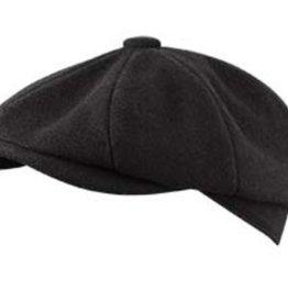 Broner Hats Black 8 QTR Cap, Tie Lined