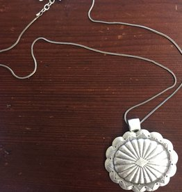 Island Imports Squash Blossom Pendant Necklace