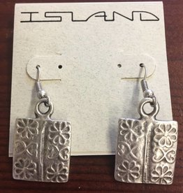 Island Imports Square Earring