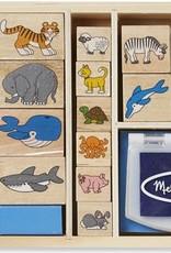 Melissa & Doug Stamp Set- Animal