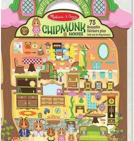 Melissa & Doug Puffy Sticker Play Set-Chipmunk House