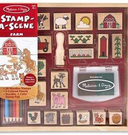 Melissa & Doug Stamp-A-Scene, Farm