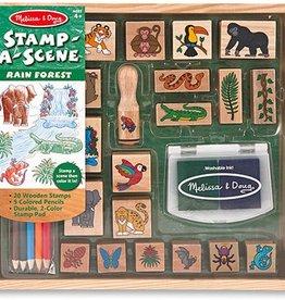 Melissa & Doug Stamp-A-Scene, Rain Forest