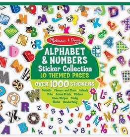 Melissa & Doug Sticker Collection - Alphabet & Numbers