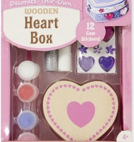 Melissa & Doug DYO HEART BOX