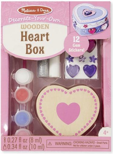 Melissa & Doug DYO HEART BOX