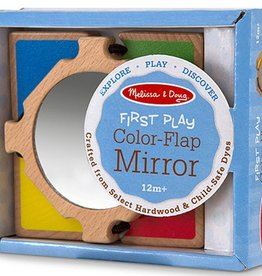 Melissa & Doug First Play-Color Flap Mirror