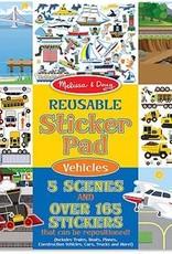 Melissa & Doug Reusable Sticker Pad - Vehicles