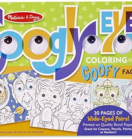 d1474dd8d630 Melissa & Doug WACKY FACES - GOOGLY EYES COLORING