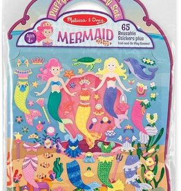 Melissa & Doug Puffy Sticker Play Set - Mermaids