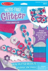 Melissa & Doug Mess Free Glitter Foam Bracelets
