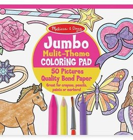 "Melissa & Doug Jumbo Coloring Pad - Pink,(11""x14"")"