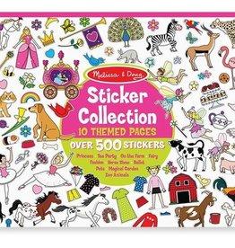 Melissa & Doug Sticker Collection - Pink