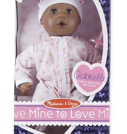 "Melissa & Doug Mine to Love - Gabrielle 12"" Doll"