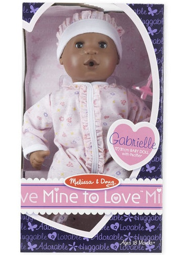 "Melissa & Doug Mine to Love - Gabrielle 12"" Doll"