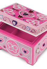 Melissa & Doug DYO - Wooden Jewelry Box