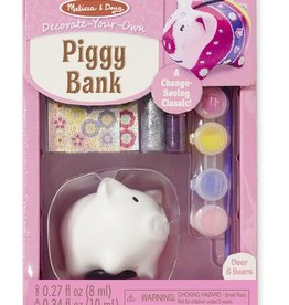 Melissa & Doug DYO - Piggy Bank