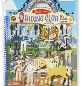 Melissa & Doug Puffy Sticker Activity Book - Riding Club